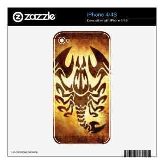 Scorpio Horoscope iPhone 4 Skin
