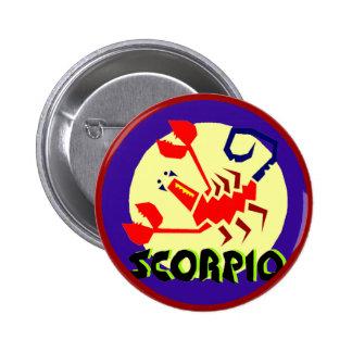 Scorpio Horoscope Sign Button
