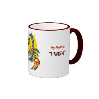 "Scorpio, I am:Hidden &Passionate, My Motto:, ""I... Mug"