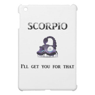 Scorpio: I'll Get You Cover For The iPad Mini
