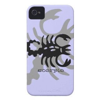 Scorpio in black iPhone 4 case