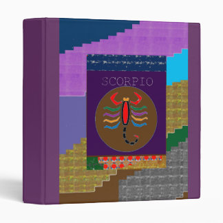 SCORPIO INSECT ARTISTIC WILD SOLID COLOR BINDER