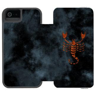 Scorpio iPhone SE/5/5s Wallet Case