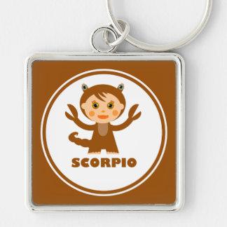 Scorpio is my Zodiac Sign Keychain
