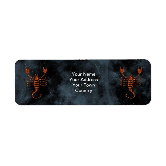 Scorpio Label