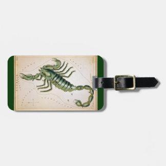 Scorpio Travel Bag Tags