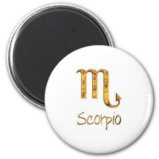 scorpio refrigerator magnets