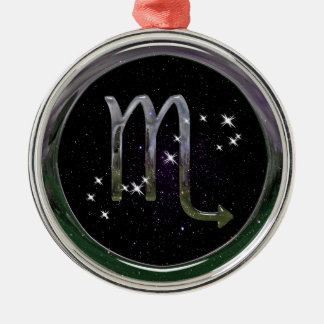 Scorpio Metal Ornament