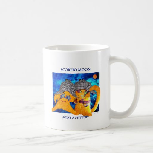 Scorpio Moon Classic White Coffee Mug