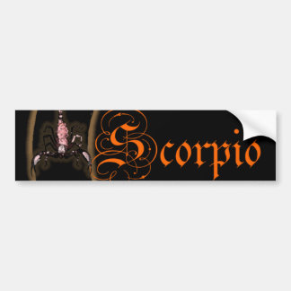 Scorpio Moons Bumper Sticker