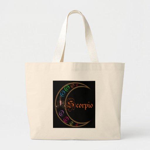 Scorpio Moons Jumbo Tote Bag