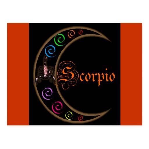 Scorpio Moons Postcard
