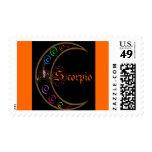 Scorpio Moons Stamps