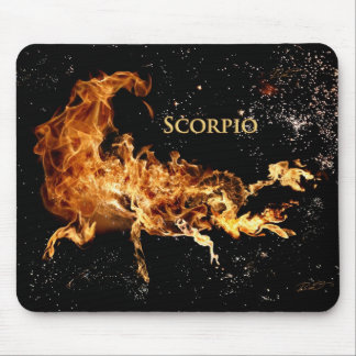 Scorpio MousePad - Zodiac Symbols