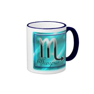 scorpio ringer coffee mug