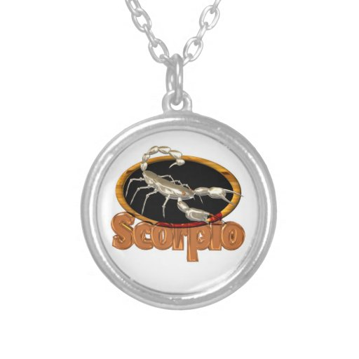 Scorpio necklace by Valxart