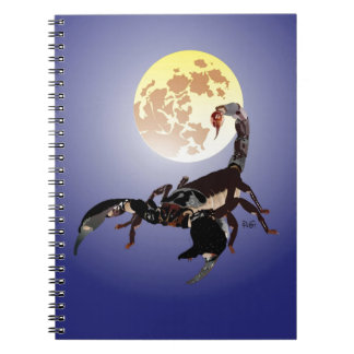 Scorpio note booklet spiral notebooks