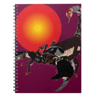 Scorpio note booklet note books