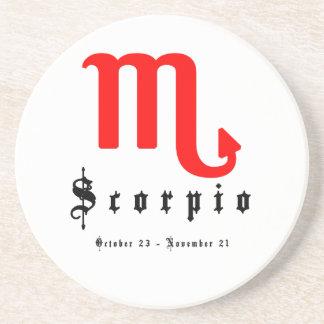 Scorpio, October 23 - November 21 Coaster
