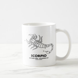 Scorpio (October 23rd - November 21st) Coffee Mug