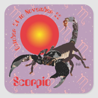 Scorpio October 24 to de los noviembre de 22 borda