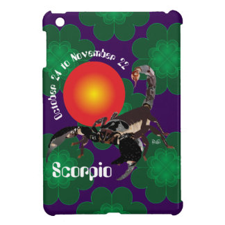 Scorpio October 24 tons November 22 iPad mini Case For The iPad Mini