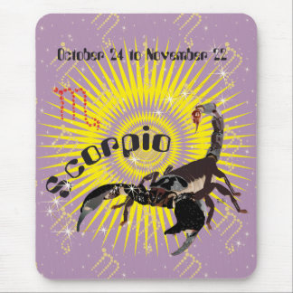 Scorpio October 24 tons November 22 mouse PADs