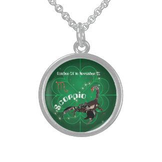 Scorpio October 24 tons November 22 Necklace