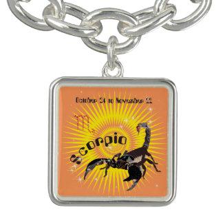 Scorpio October 24 tons November 22 Necklace Charm Bracelet