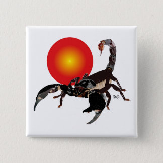 Scorpio of button