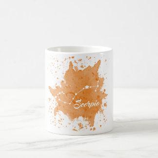 Scorpio Orange Mug