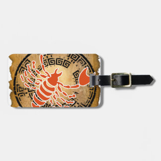SCORPIO PAPYRUS PRODUCTS LUGGAGE TAG