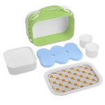 Scorpio Pattern Orange Lunch Boxes