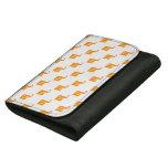 Scorpio Pattern Orange Wallet