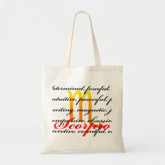 Scorpio Personality Bag