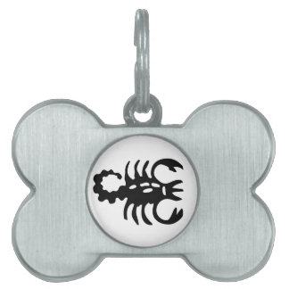 Scorpio Pet Zodiac Dog Tag Pet Name Tag