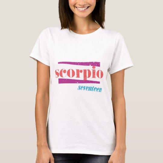 Scorpio Pink T-Shirt