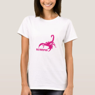 Scorpio - Pink T-Shirt