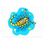 Scorpio Post Cards