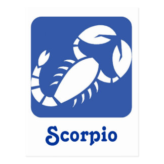 Scorpio Postcards