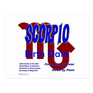 Scorpio Post Card
