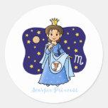 Scorpio Princess Sticker
