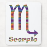 Scorpio Psychedelic Mousepads