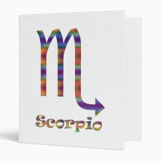 Scorpio Psychedelic Vinyl Binders