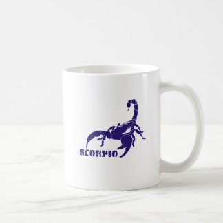 Scorpio Purple Coffee Mug