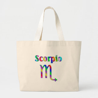 Scorpio Rainbow Large Tote Bag