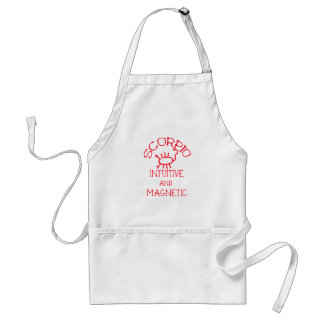 Scorpio (Red Text) Adult Apron