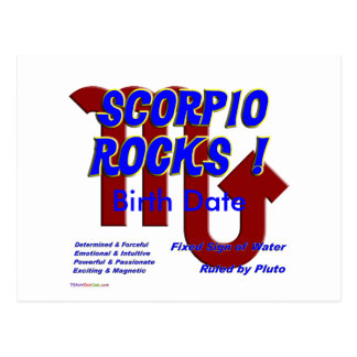 Scorpio Rocks Postcards
