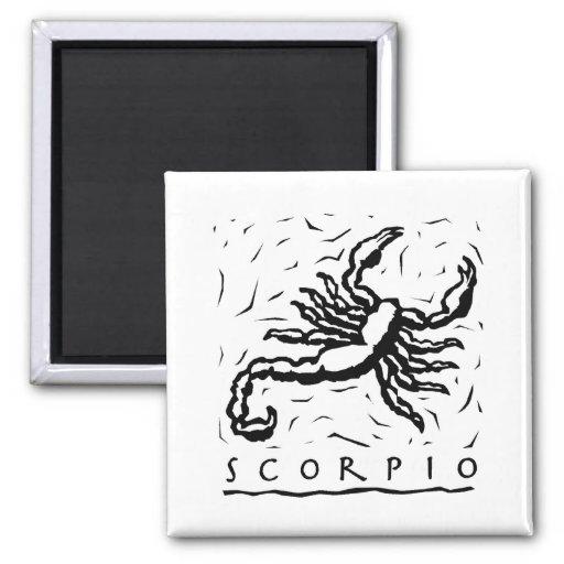 Scorpio Scorpion Fridge Magnet
