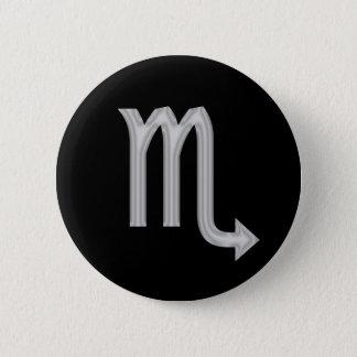 Scorpio Scorpion Zodiac Button